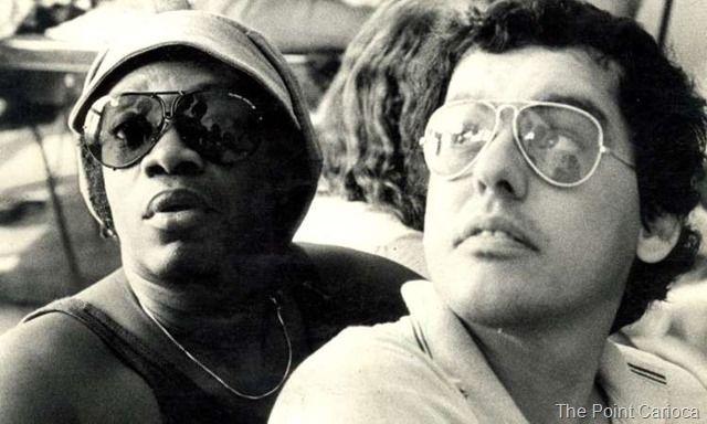 Milton Nascimento e Fernando Brant