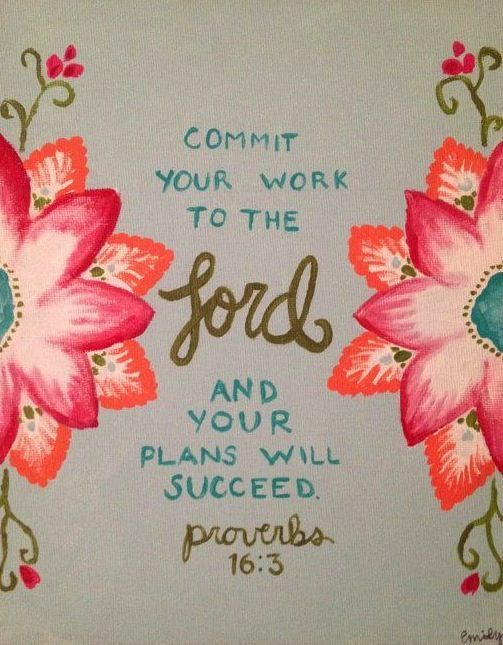This was the verse on my graduation invitations:)