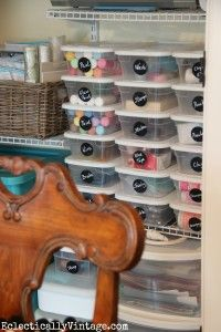 Craft Supply Organization Tips
