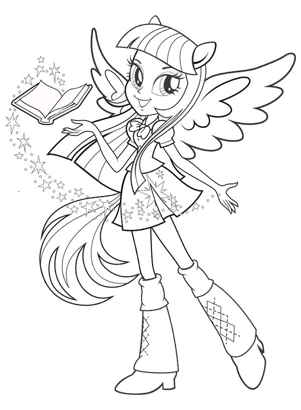 Coloriage My Little Pony #mylittlepony #coloriage #printablefree #coloringpage…