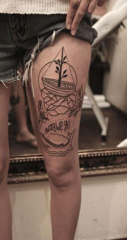 Travel Tattoo Leg Fonts 57 idee #fonts #ideas #tattoo #travel