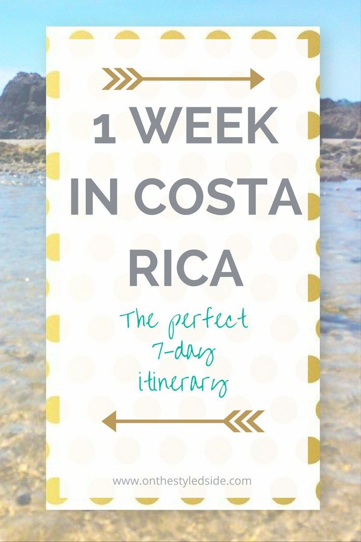 Perfect Costa Rica 7-Day Beach Itinerary | See where to stay, play, eat + drink for the best Costa Rica Vacation! | Costa Rica Travel | Costa Rica Vacation