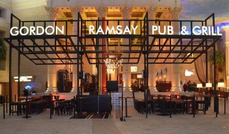 Gordon Ramsay pub and grill-Caesars, Atlantic City NJ