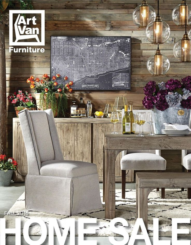Art Van s new 2016 Fall Home Sale Catalog features an eclectic mix of  modern  urban. 52 best 2016 Fall Home Sale Catalog images on Pinterest   Art van