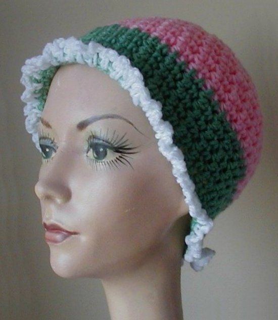 Free Crochet Patterns For Chemo Hats : Crochet Chemo Cap Free Pattern chemo patterns Pinterest