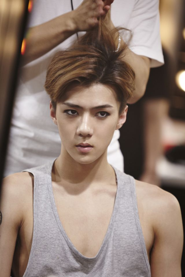 Sehun | official SMTOWNnow 140826 update '-The Lost Planet- in Singapore'