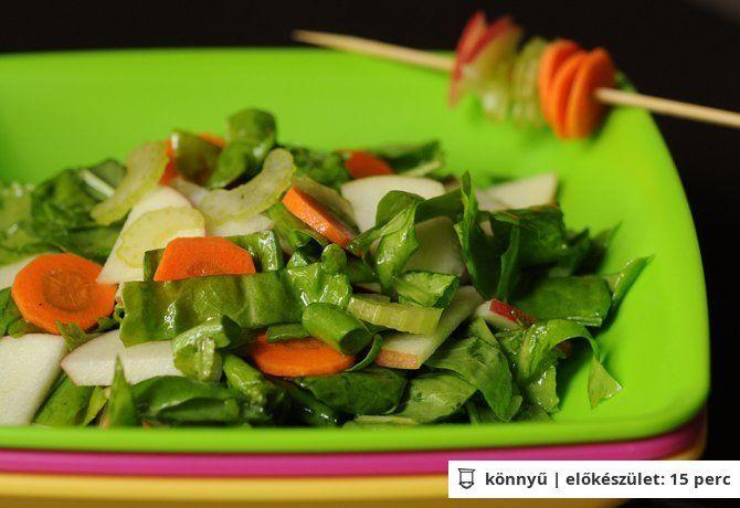 Sóska saláta