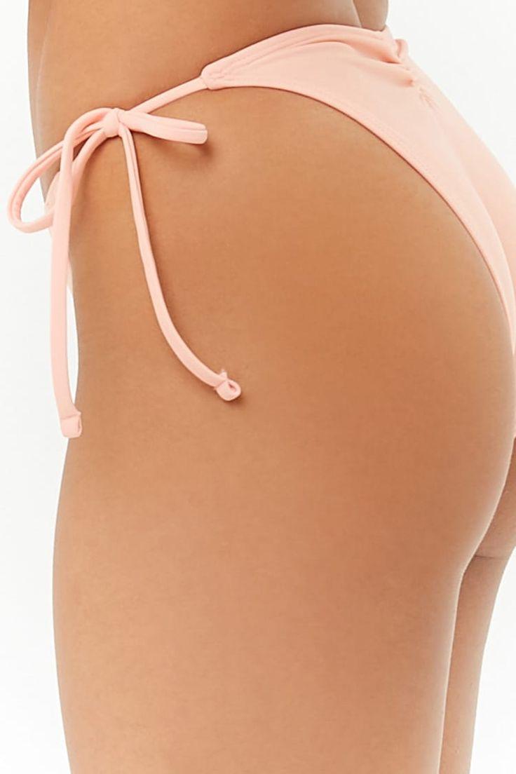 Self-Tie String Bikini Bottoms #Affiliate, #Sponsored, #String, #Tie, #Bottoms, …
