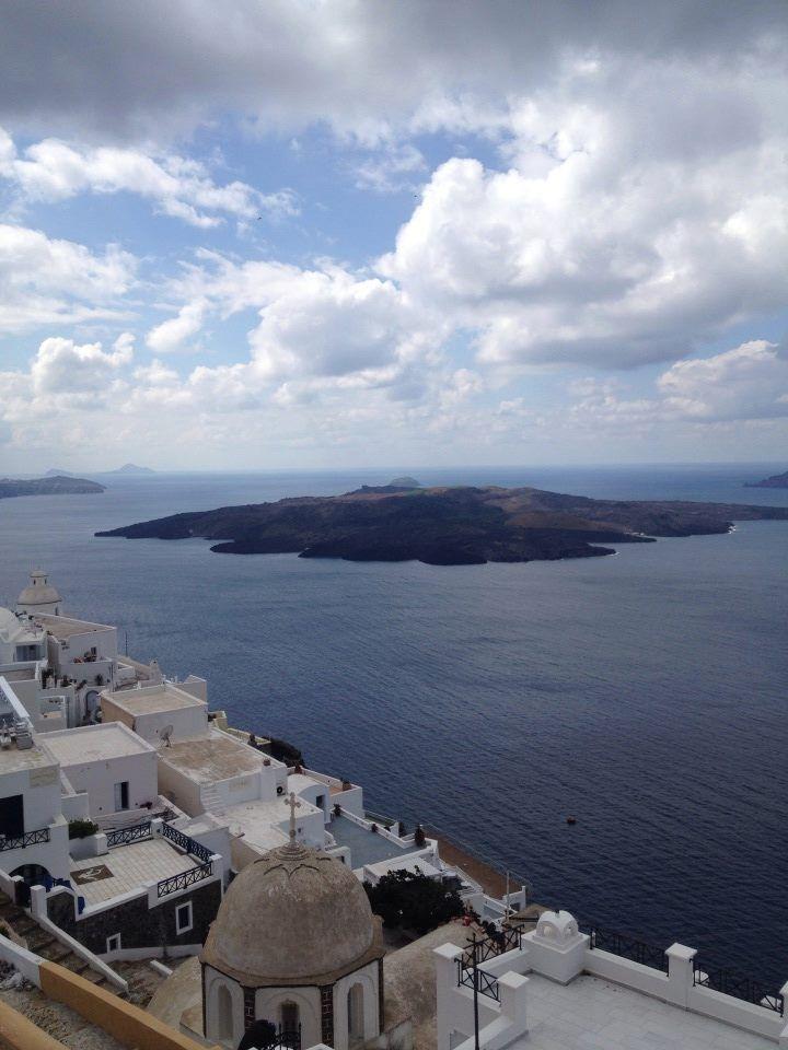 Cloudy sky! @ Rocabella deluxe suites & spa Santorini !!!