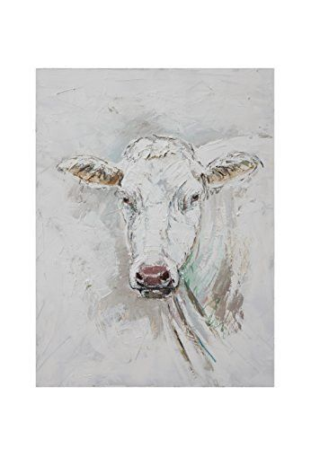 Cow Painting On Canvas Uk Animals Living Room