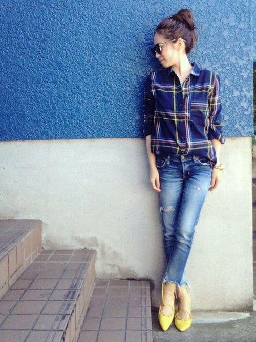 春夏に大活躍のレースアップシューズのコーデ♡スタイル・ファッションの参考に♪