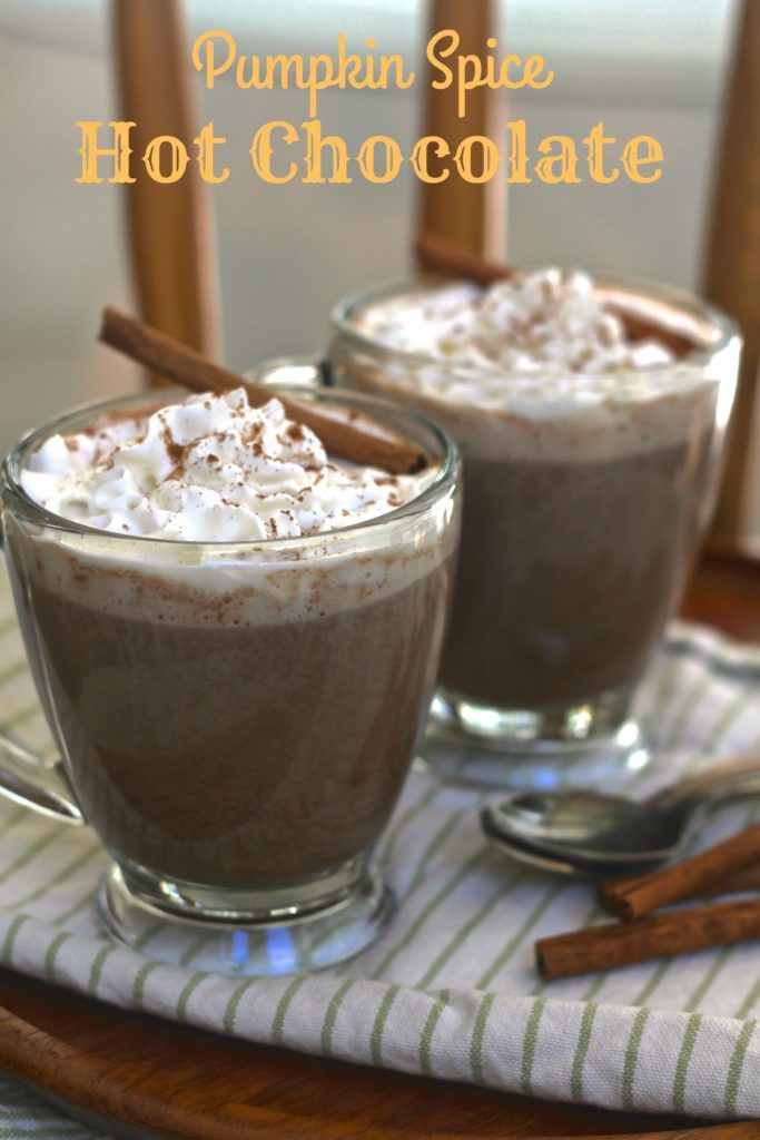 Pumpkin Spice Hot Chocolate is super simple and absolutely scrumptious!