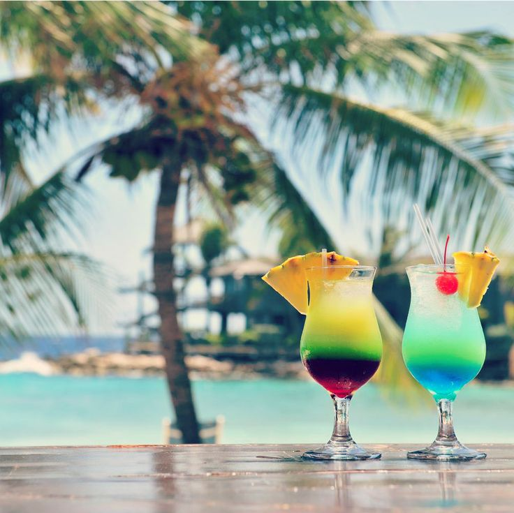Cocktails and sunshine! | Curacao