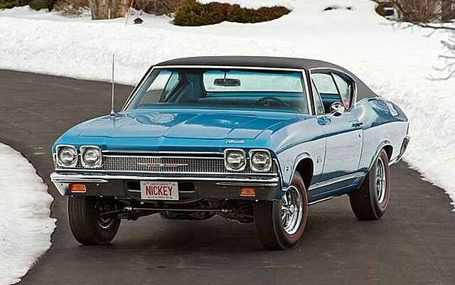 1968 Chevrolet Malibu L79 2-Door Hardtop 327/325 HP, 4-Speed