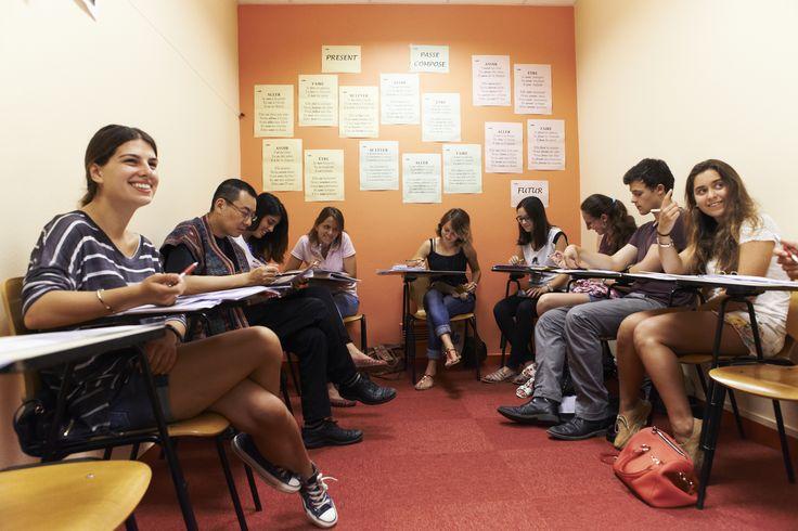 Paris Langues' classroom - Salle de cours à Paris Langues
