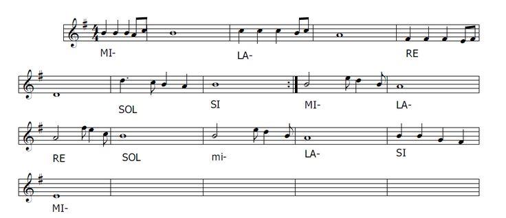 Musica e spartiti gratis per flauto dolce: Gam Gam - canzone cantata nei Campi di sterminio