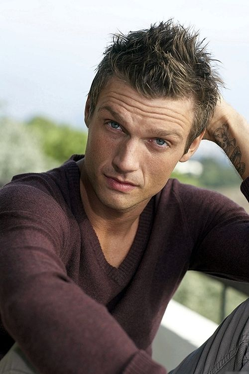 Nick Carter... He will always be my favourite Backstreet Boy