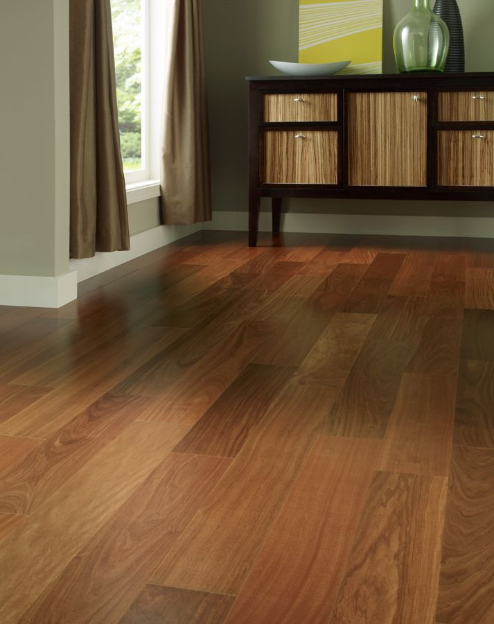 Santos Mahogany Hardwood Flooring By Johnson.