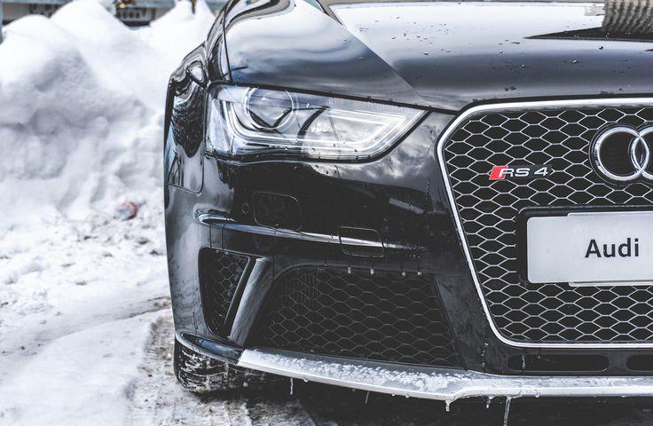 Crashtest xx. Audi RS4
