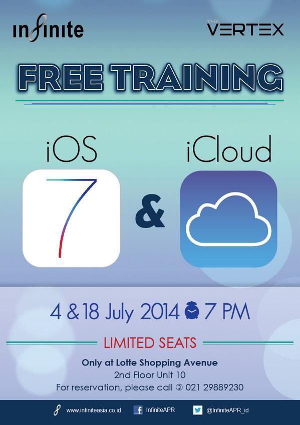 Infinite Apple Premium Reseller: Free Training @LOTTE_LOVE_JKT