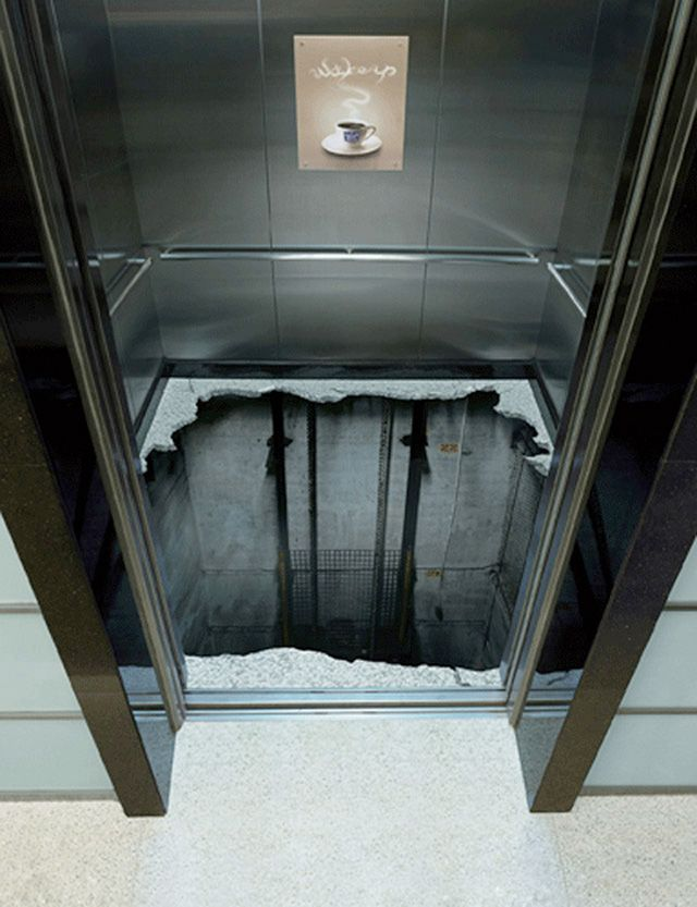 36 Most Creative Elevator Advertisements You'll Ever See Guerilla Marketing Photo