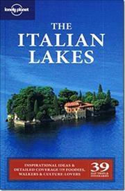 The Italian Lakes af Damien Simonis, ISBN 9781741790887