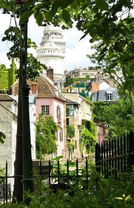 Le Clos Montmartre, pequeño viñedo en un jardín casi secreto en medio del barrio de #Montmartre que data del año 1932. http://www.viajaraparis.com/museos-de-paris/museo-de-montmartre-de-paris/ #Paris