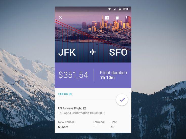 Signa Android UI Design Community — Application concept by Lorenzo Zanotto