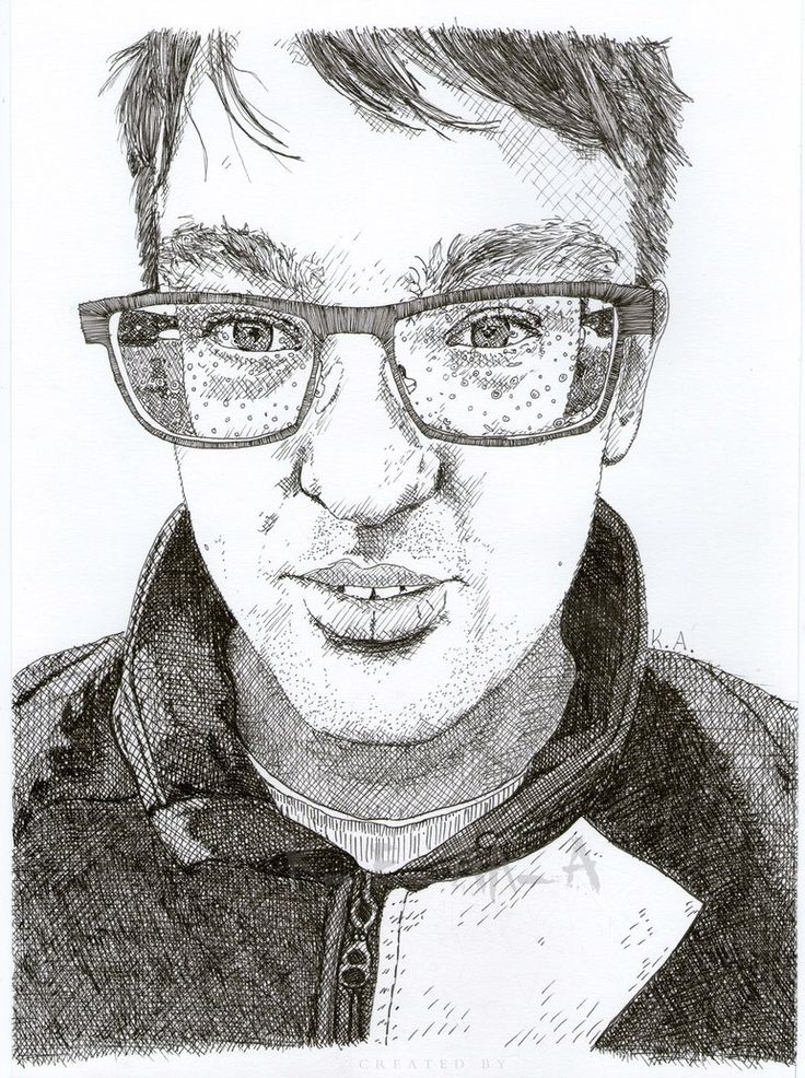 I have made this drawing by my handsome boyfriend <3