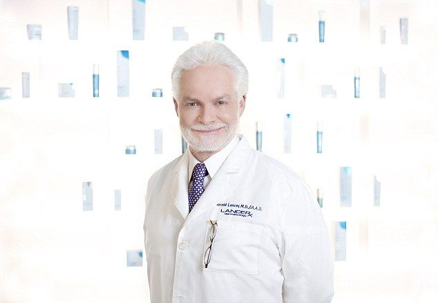 Skin guru: As he launches his new book, Younger, Dr Lancer shared the skincare secrets and lifestyle tips that he passes onto his A-list clients, including Jennifer Lopez, Renee Zellweger and Jessica Simpson