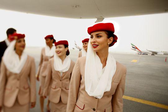 Emirates Flight Attendant Uniform