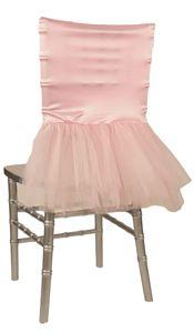 Wildflower Linen - Pink Tutu Chair Cover!!