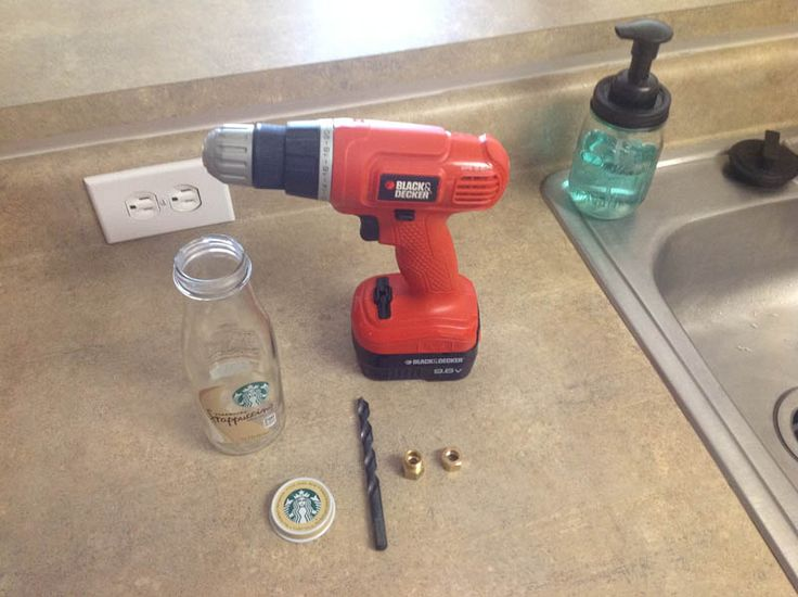 how to create suction with a glass bottle