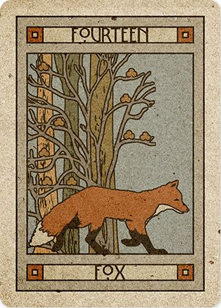 14/39. Fox - Chelsea-Lenormand by Neil Lovell