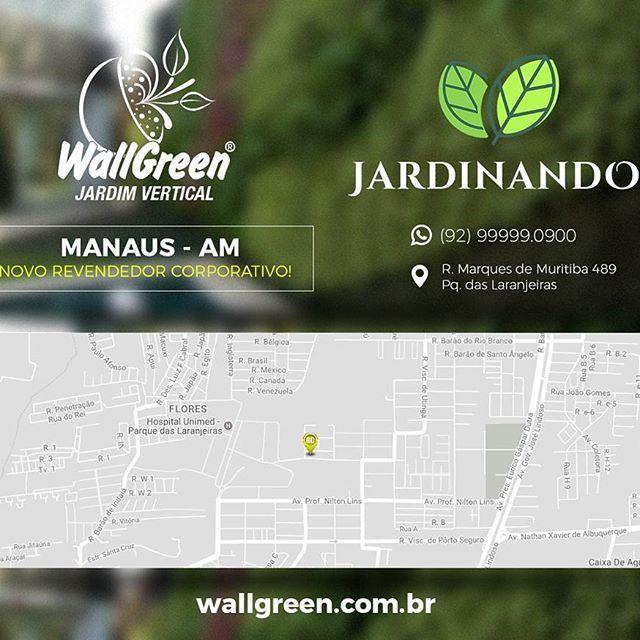 WG® | Tem novidade em Manaus AM!!! 🌿Novo Revendedor Corporativo🌿 chegando para oferecer jardins verticais com condições especiais de preço e atendimento! Mais uma força de venda para região norte do Brasil 🇧🇷 #wallgreen #jardinsverticais #verticalgarden #landscape #arquitetura  #decor #dint #design #ecofriendly #eco #plantas #revendedor #corporativo #manaus #am #madeinbrazil 🇧🇷🇧🇷🇧🇷🌿🌿
