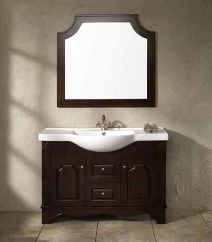 Photo Album For Website Trying to save space in a small bathroom Narrow bathroom vanities are a smart solution that won ut feel like a sacrifice