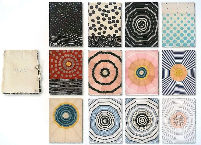 Louise Bourgeois - Fabric Drawings