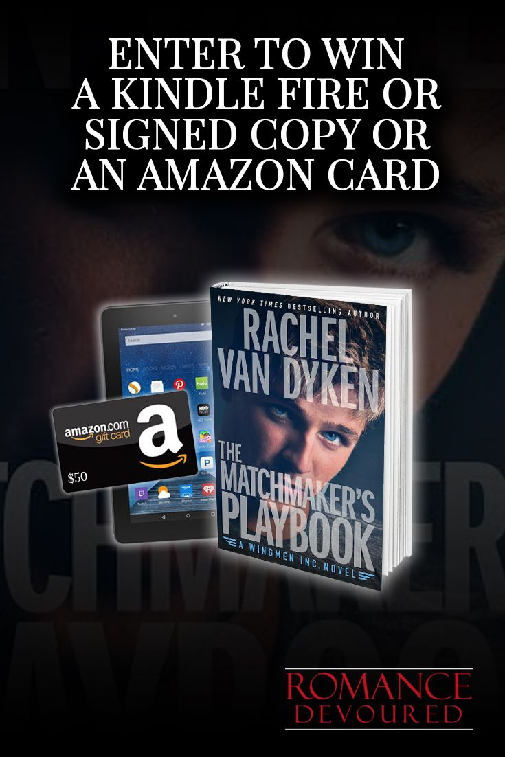 Win a Kindle Fire, $50 Amazon Gift Card or Signed Copies from NY Times, USA Today, Wall Street Journal Bestselling Author Rachel Van Dyken