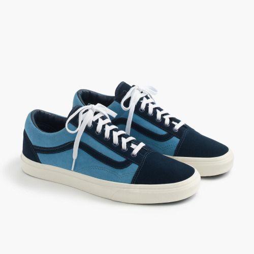 http://SneakersCartel.com J.Crew x Vans Old Skool #sneakers #shoes #kicks #jordan #lebron #nba #nike #adidas #reebok #airjordan #sneakerhead #fashion #sneakerscartel