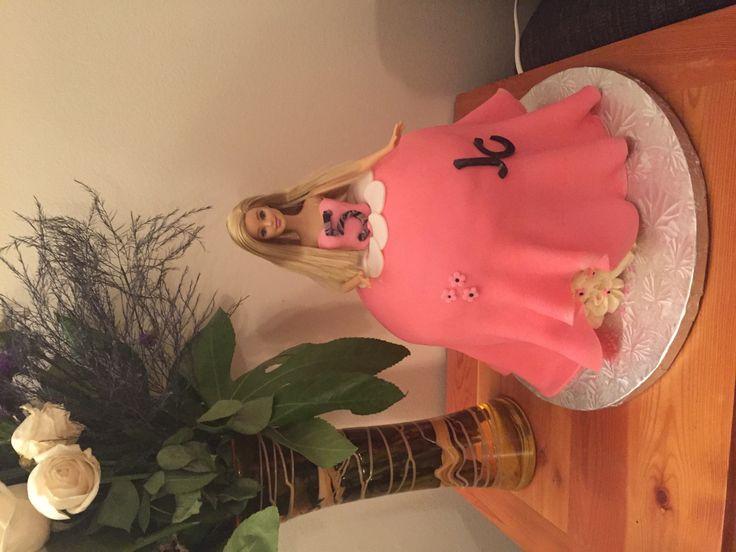 Barbie Cake - Jaanvi's 5th Birthday