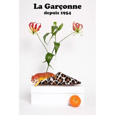 La Garconne Babouche Leo weiss La Garconne Babouche Snake Braun #onyva #shoes #babouche #fashion #trends #zurich #switzerland #schweiz #biel #bienne #bern #chur #onlineshop #summer #summershoes #sandals #flats #summerfashion
