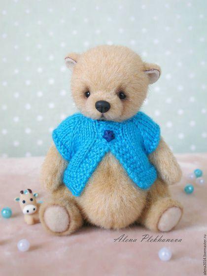 Мишки Тедди ручной работы. Ярмарка Мастеров - ручная работа. Купить Winnie. Handmade. Тедди, медвежонок, подарок, синтепух