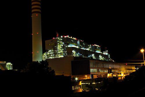 Civitavecchia Power plant Torrevaldaliga
