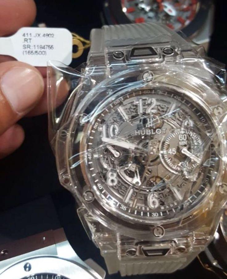 Hublot [NEW] Big Bang Unico Sapphire [LIMITED 500 PIECE][限量500支] 411.JX.4802.RT (Retail:HK$463,900) - Selling Price 售價: HK$379,000.   #hublot #unicoSapphire #hublotsapphire #unico_sapphire #hublot_sapphire #411jx4802rt #411_JX_4802_RT