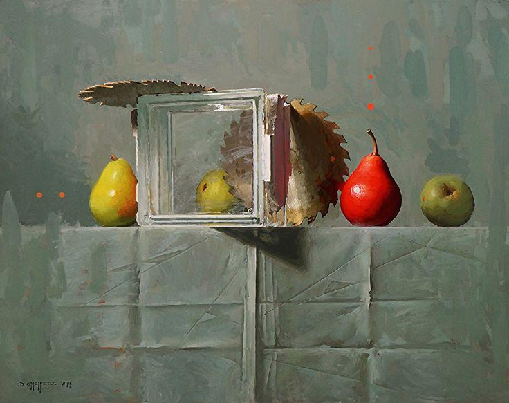 In Glass Houses by David Cheifetz Oil ~ 16 x 20