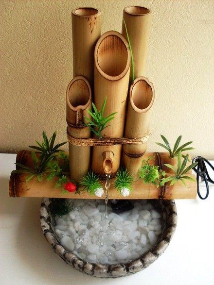 Fontes artificiais harmonizam o ambiente e dão sensação de bem-estar - NaTelinha