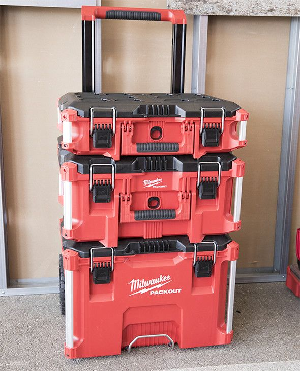 $280-Milwaukee Packout Modular Tool Box System