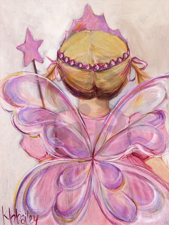 Little Fairy Princess Blonde By Kristina Bailey Girl