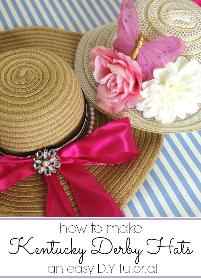 Create Your Own DIY Kentucky Derby Hat Masterpiece - thegoodstuff