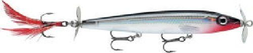 Rapala X-Rap Prop 11 Fishing lure, 4.375-Inch, Silver >>> More info could be found at the image url.